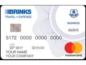 Brink's Business Expense Card