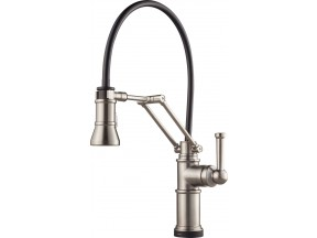 Artesso® Articulating Kitchen Faucet with SmartTouch® Technology by Brizo®
