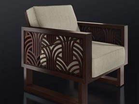 Mix and Match Frame Lounge Chair