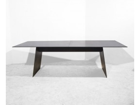 ANGLED LEG DINING TABLE