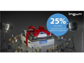 INGUN offer 25% discount  on manual test fixtures and standard exchangeable kits