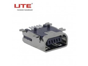 5P Micro USB female connector B type