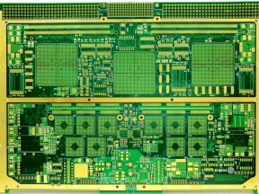 High density multilayer PCBs