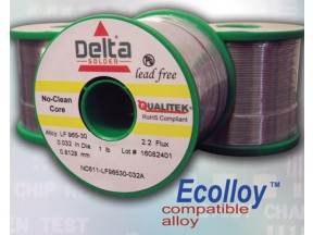 Delta NC611 No-Clean Wire Solder