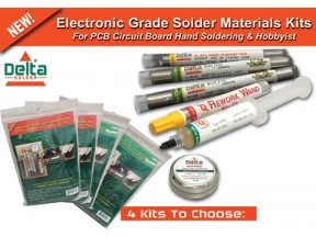 Solder Material Kits For Hand Soldering & Prototype Assembly
