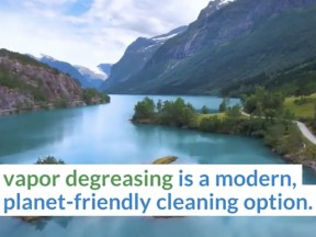 New Video - Environmentally Better Critical Cleaning