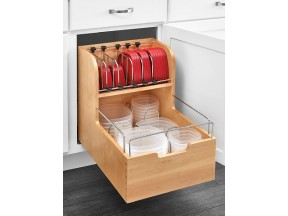 Food Storage Container Pullout