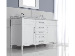 "Continental Collection 60"" White"