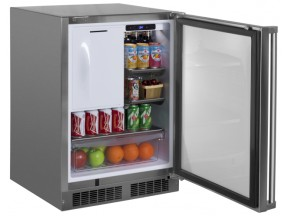 Marvel Outdoor Refrigerator Freezer with Ice Maker Option
