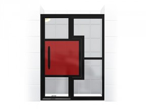 Gridscape GS4 Series Mondrian Edition Shower Door