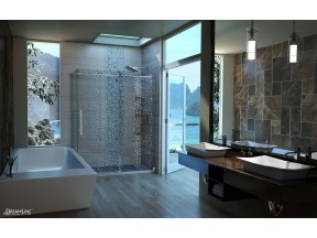 Sparkle Shower Door and Enclosure
