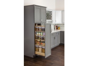 Hardware Resources Wood Pantry Pullout