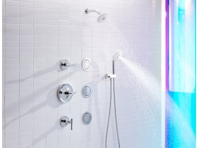 Exhale Showering Components