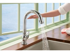 Beckon Touchless Kitchen Faucet