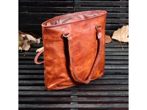 Handy Leather Tote Bag
