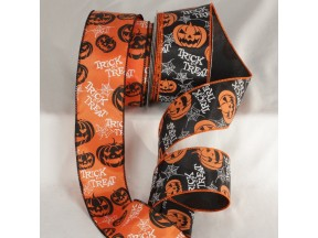 Wired Trick or Treat Ribbon