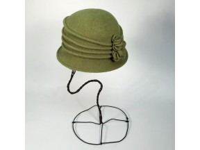 boiled wool hat