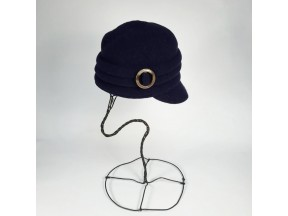 Pleated Boil Wool Cadet Hat