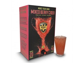 Victor's Drinks Mixed Berry Hard Cider Making Kit