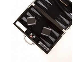 Carbon Fiber Backgammon Set