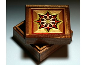 Quilt Pattern Box