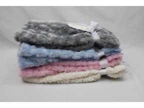 Baby Mode Signature Curly Plush Blanket