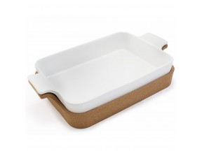 Ensemble Rectangle Baker with Cork Tray