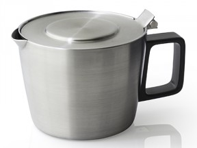 FORLIFE Hospitality Stainless Steel Teapot with Built in Strainer 14 oz. / 414 ml.