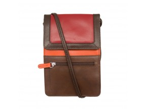 Leather Crossbody Organizer