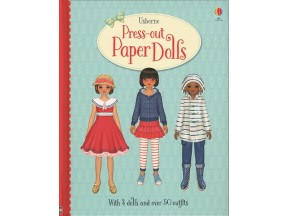 Press-out Paper Dolls