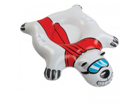 The Giant Polar Bear Snow Tube