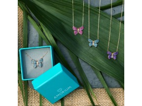 Sterling Silver Butterfly Necklaces