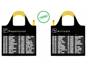 LOQI Departures-Arrivals Tote Bag
