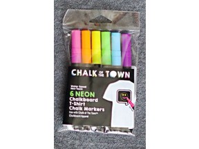 Chalk of the Town T-Shirt - 6 Color Marker Pack