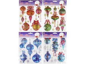 Christmas Hanging Ball Stickers