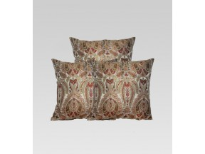 Hand Woven Cushion Cover, in Heritage Banarasi Brocade Fabric