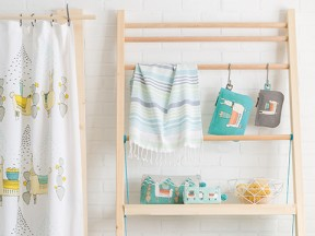 Llamarama Shower Curtain, Bags, and Pouches