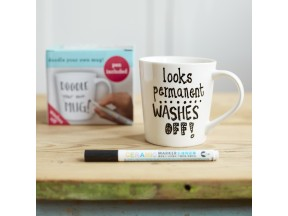the doodle mug to personalize