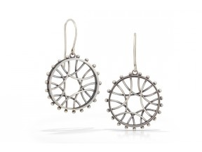 Radial Arc Earrings