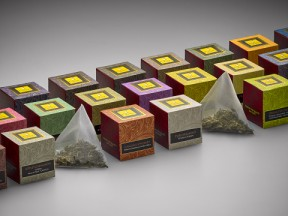 Tea Collection in Individual Cubes