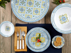 Fontainebleau Melamine Dinnerware Collection
