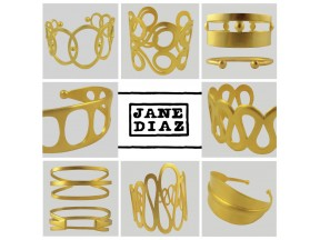 Gold Plated Cuffs