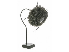 Guinea Fowl Feather Reading Lamp
