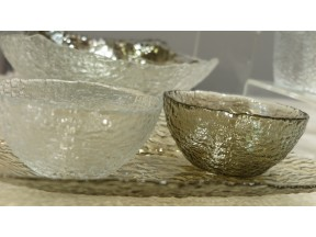 GLASS TABLEWARE - ROCK