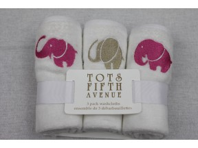 Tots Fifth Avenue Luxury Washcloth Set