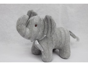 Tots Fifth Avenue Cable Knit Elephant