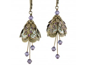 Flower Fairy Earrings - Italian Courtesan