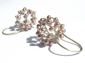 Ball Earrings Pearl