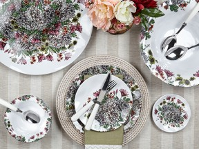 Knoll Gardens Melamine Dinnerware Collection