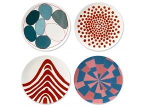 Ode à l'oubli ceramic plates by Louise Bourgeois